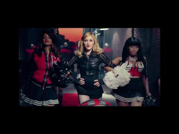 Madonna comparte single con Nicki Minaj y M.I.A. (Foto: Internet)