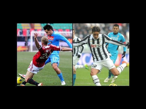 Juventus y AC Milan no se sacaron ventaja  