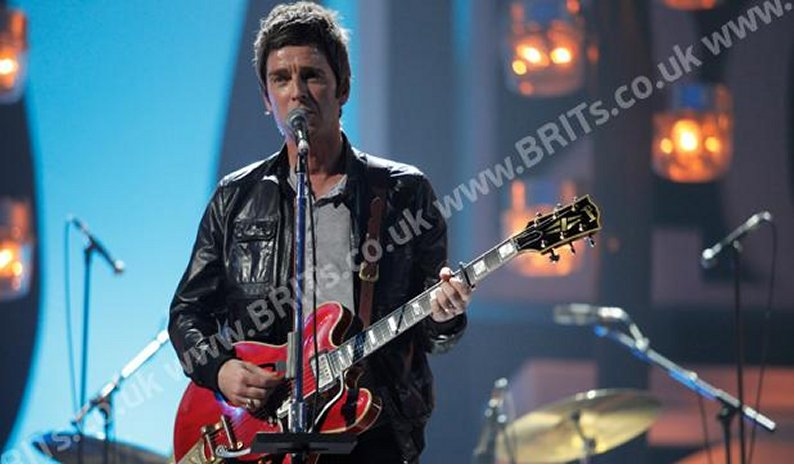 Noel Gallagher en los Brit Awards (Foto: Site Brit Awards).