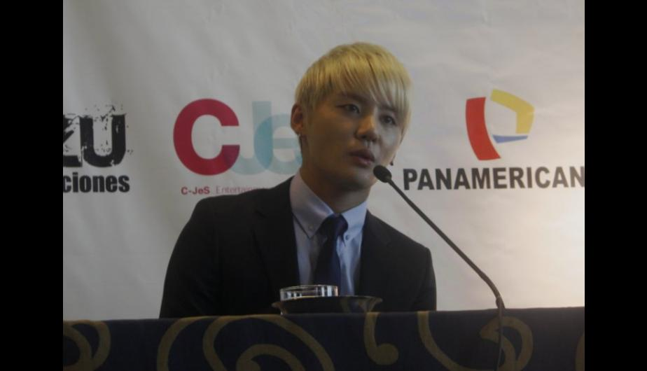 Fotos: JYJ no puede creer tanto cari&ntilde;o peruano