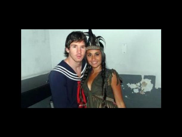 Lionel Messi se disfraza de Quico para fiesta