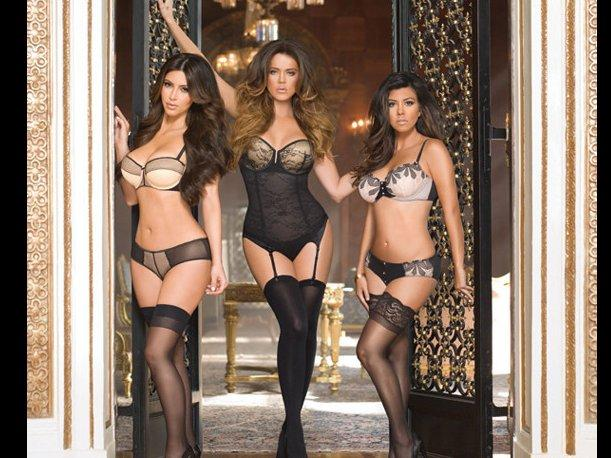 Lo último en lencería de The Kardashian Kollection