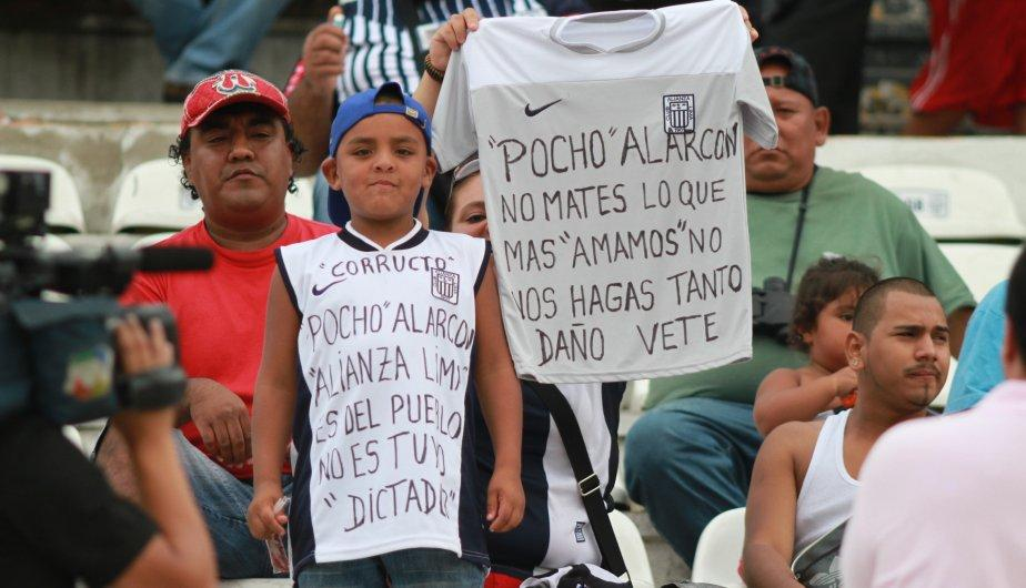 Fotos: Los hinchas del Alianza Lima &ndash; Sport Huancayo