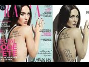 Megan Fox es víctima de Photoshop