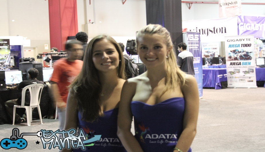 La bellas chicas de ADATA.