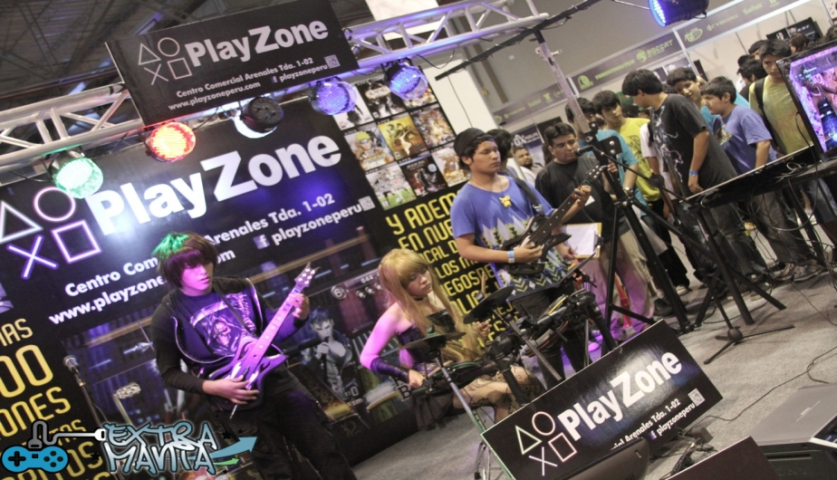 Rock Band gracias a Play Zone.