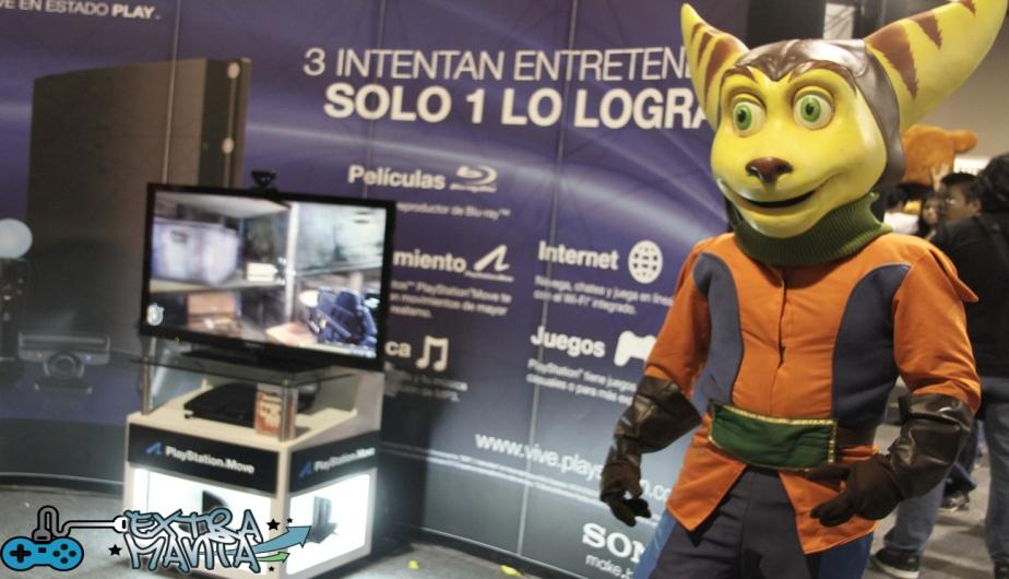 Stand de Sony.