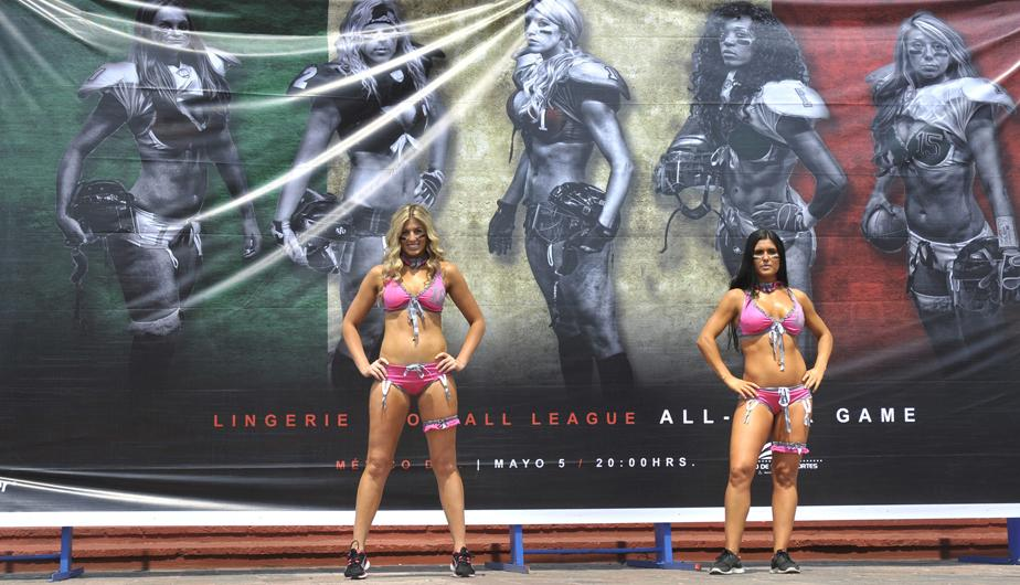 México espera con ansias la 'Lingerie Football League'