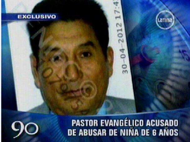 VIDEO: Capturan a pastor evangélico que violó a menor de 6 años