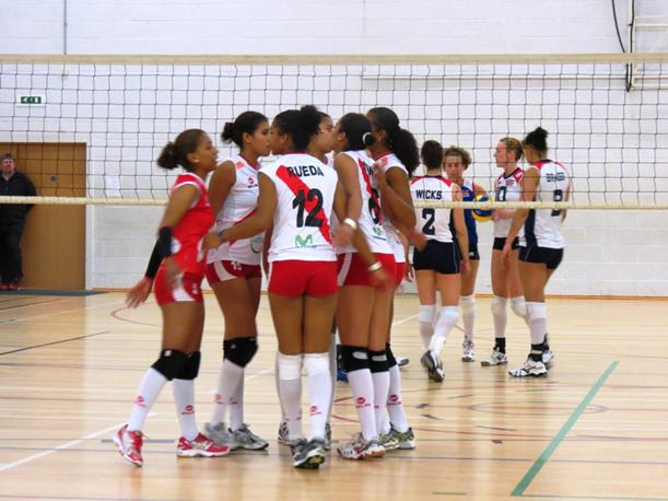 La selecci&oacute;n nacional de voleibol volvi&oacute; a vencer a Gran Breta&ntilde;a&rlm;