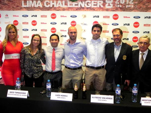 Todo va quedando listo para el Lima Challenger 2012