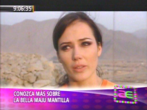 VIDEO: Maju Mantilla se quiebra al recordar a su madre