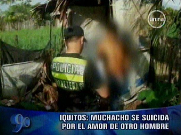 VIDEO: Joven se mata tras terminar relaci&oacute;n sentimental con otro hombre