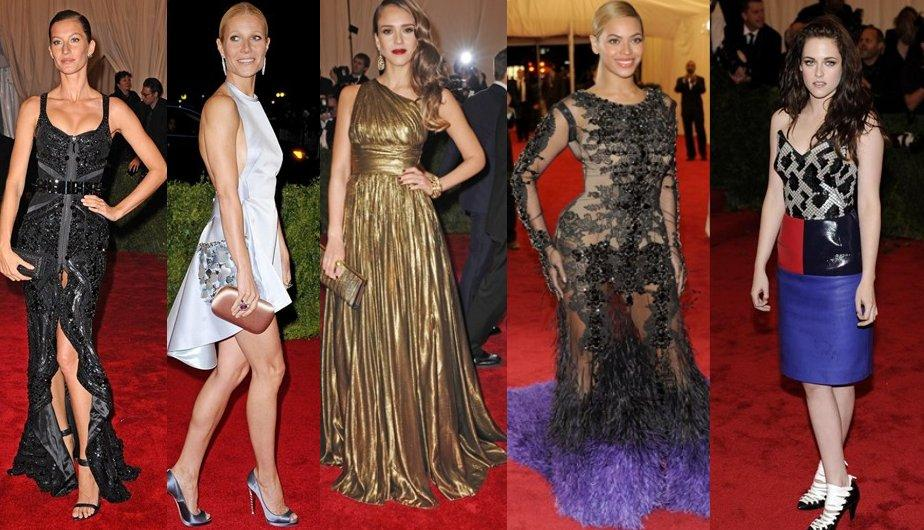 FOTOS: Los vestidos de la Gala del Museo Metropolitano de Nueva York 2012