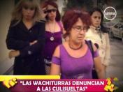 "VIDEO: ""Las Wachiturras"" denuncian a ""Las Culisueltas"" por agresión"