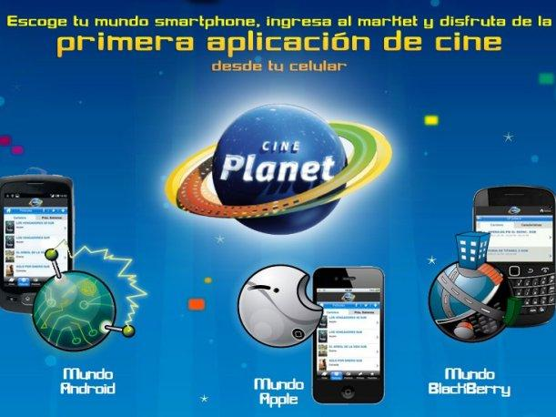 Cineplanet lanza aplicaci&oacute;n gratuita para consultar cartelera desde Smarthphones