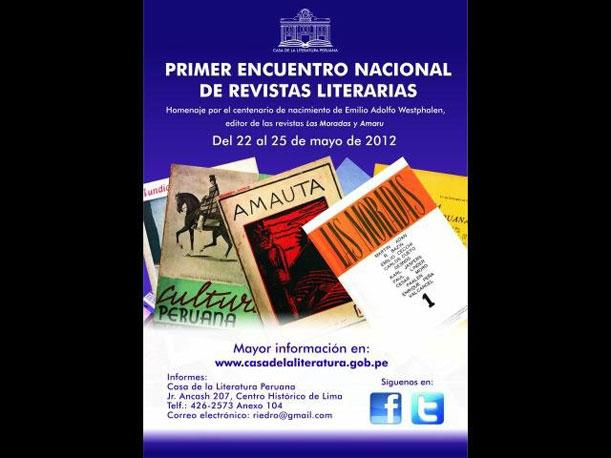Se inicia el &#039;Primer Encuentro Nacional de Revistas Literarias&#039;