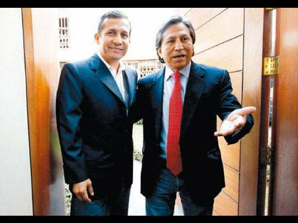 Reuni&oacute;n entre Ollanta Humala y Alejandro Toledo fue postergada para el s&aacute;bado