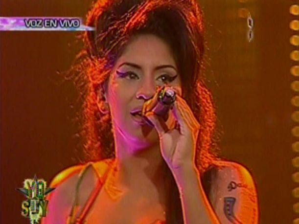 VIDEO: Amy Winehouse peruana decepcionó al público