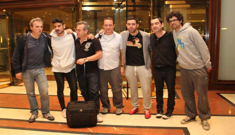 FOTOS: Hombres G ya est&aacute;n en Lima para alegr&iacute;a de sus fans
