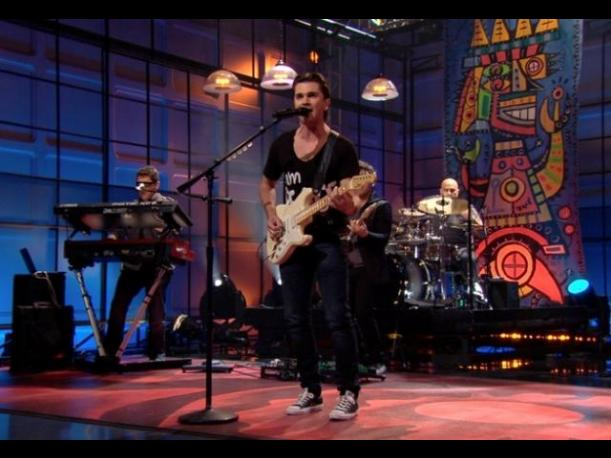 Juanes estuvo presente en The Tonight Show de Jay Leno  