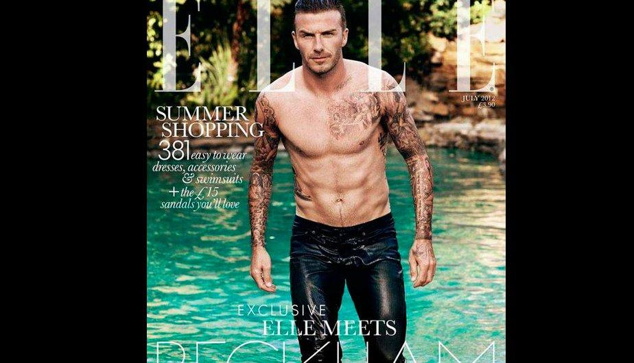 FOTOS: Un hot David Beckham posa para la revista Elle