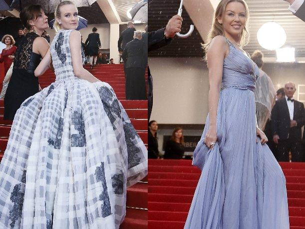 Diane Kruger y Kylie Minogue cerraron con broche de oro la alfombra roja de Cannes
