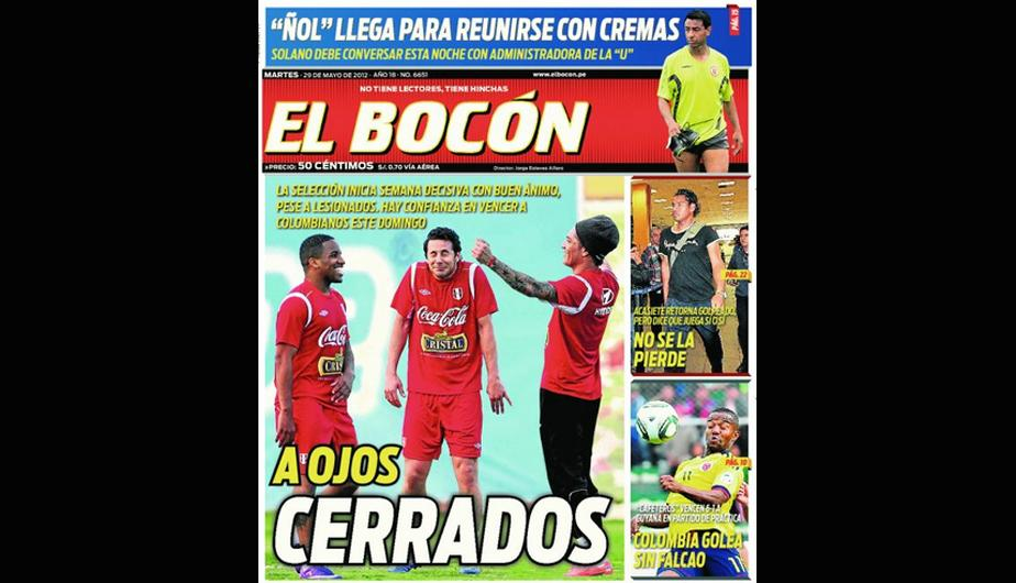 Kiosko Deportivo: La Selecci&oacute;n Peruana en todas las portadas 