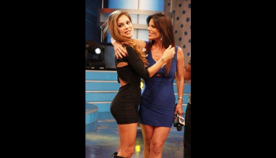 FOTOS: Las chicas terremoto alborotaron &#039;Combate&#039;