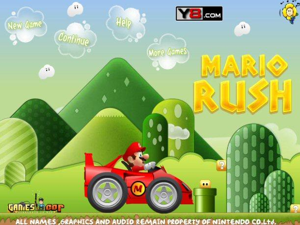 Juego Online - Mario Rush
