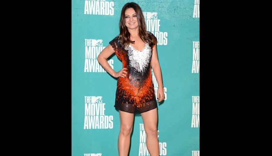 FOTOS: La alfombra roja de los MTV Movie Awards 2012