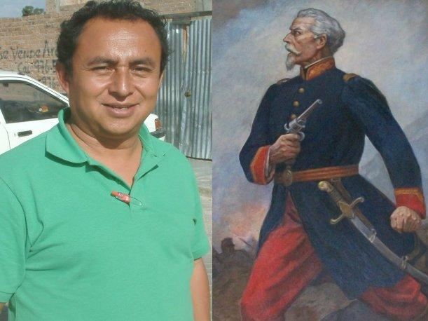 Gregorio Santos emula y usa frase del h&eacute;roe Francisco Bolognesi en Twitter 