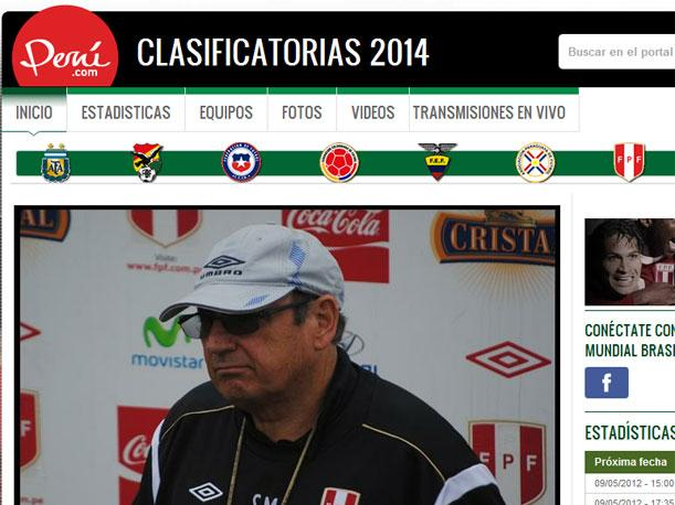 Clasificatorias al Mundial de Brasil 2014
