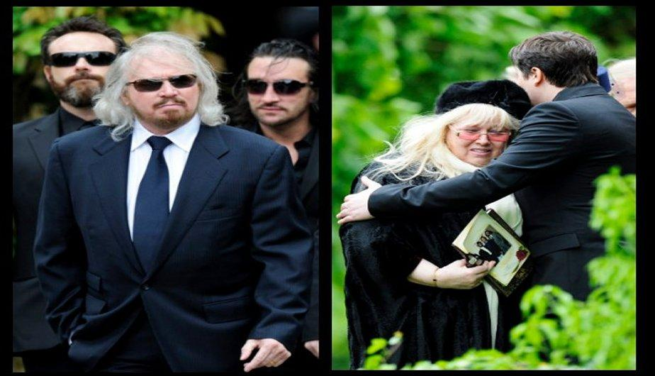 FOTOS: Funeral del ex Bee Gees, Robin Gibb
