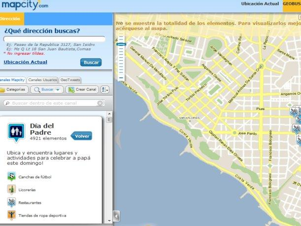 Mapcity sabe d&oacute;nde puedes engre&iacute;r a pap&aacute; por su d&iacute;a