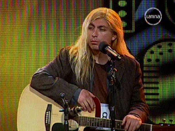 Imitador de Kurt Cobain dijo ser mejor que Ramiro Saavedra