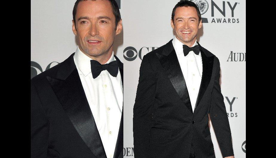 FOTOS: Hugh Jackman y su elegancia en los Tony Awards 2012