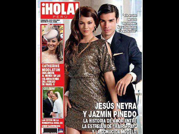 Jes&uacute;s Neyra revela detalles de su relaci&oacute;n para &iexcl;Hola! Per&uacute;