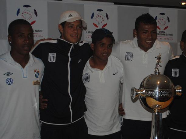 VIDEO: Junior Ponce quiere ganar la Libertadores Sub-20 con Alianza Lima