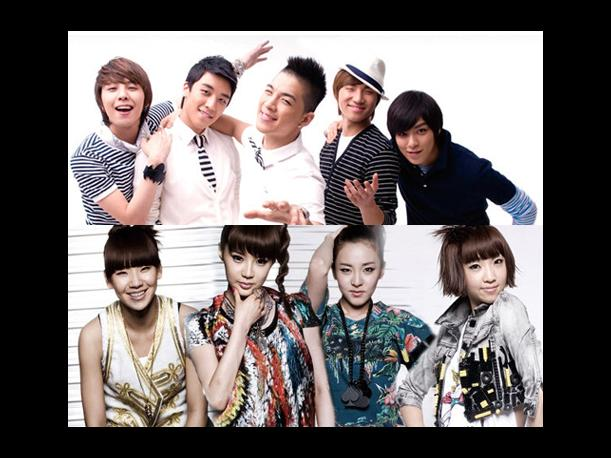 Corea: &iexcl;Sigue a BIGBANG y a 2NE1 en su Cuenta Oficial de Twitter!