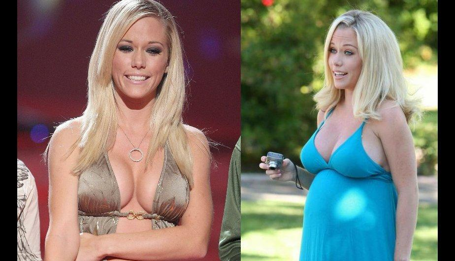 FOTOS: Las famosas que engordaron mucho en el embarazo