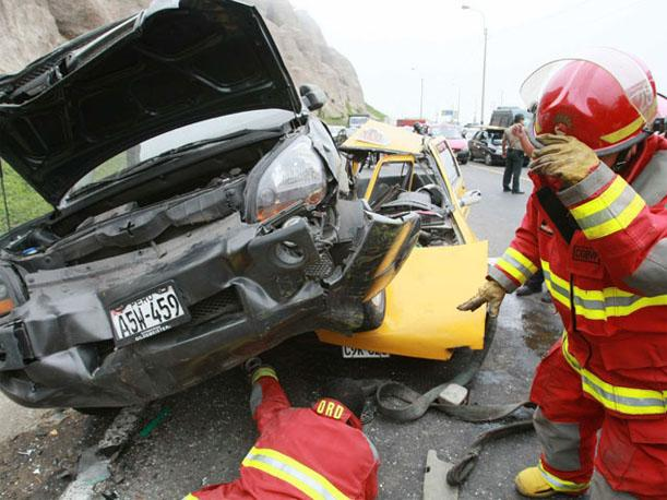 Accidentes de tr&aacute;nsito han dejado 261 muertos en Lima en lo que va del a&ntilde;o