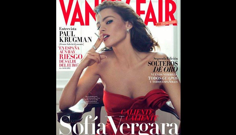 FOTOS: Sof&iacute;a Vergara se luce en la portada del mes de julio para Vanity Fair 