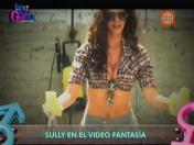 VIDEO: Sully Sáenz grabó sensual video 'Fantasía' para Esto es Guerra