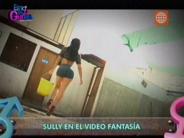 VIDEO: Sully S&aacute;enz grab&oacute; sensual video &#039;Fantas&iacute;a&#039; para Esto es Guerra