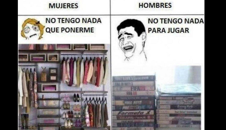 FOTOS: Memes que retratan la diferencia entre hombres y mujeres en una relaci&oacute;n