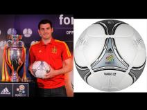 Presentan bal&oacute;n oficial para la final de la Eurocopa 2012