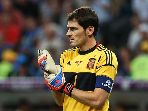 "Iker Casillas: ""Buffon ha sido una referencia para mi"""