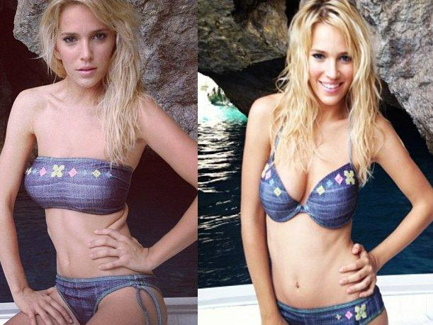 Luisana Lopilato preocup&oacute; por su extrema delgadez