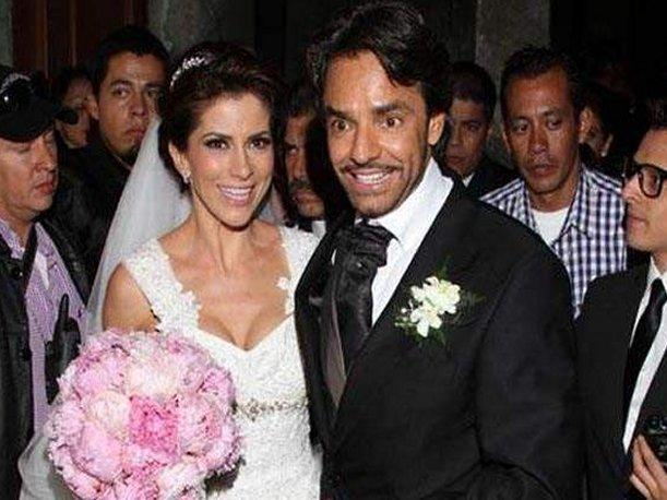 Eugenio Derbez se cas&oacute; y llor&oacute; en plena boda con actriz Alessandra Rosaldo 